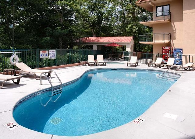 Condo 3001 -- The pool is great for a day of rest and relaxation with the family