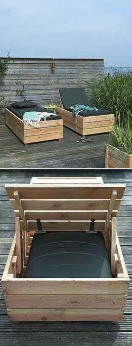 The Storage Daybed Lounger | 32 Outrageously Fun Things You'll Want In Your Backyard This Summer