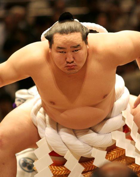Asashōryū Akinori - Sumo's 3rd most successful wrestler in the sport's 2,000-year history, granting him the title of Yokozuna, or grand champion.