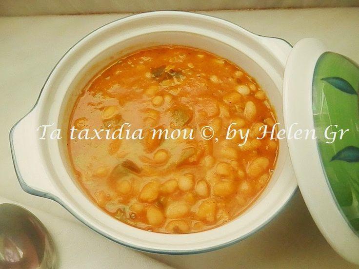 Τα ταξίδια μου : Μια Υπέροχη Φασολάδα! – A Delicious White Beans Soup!
