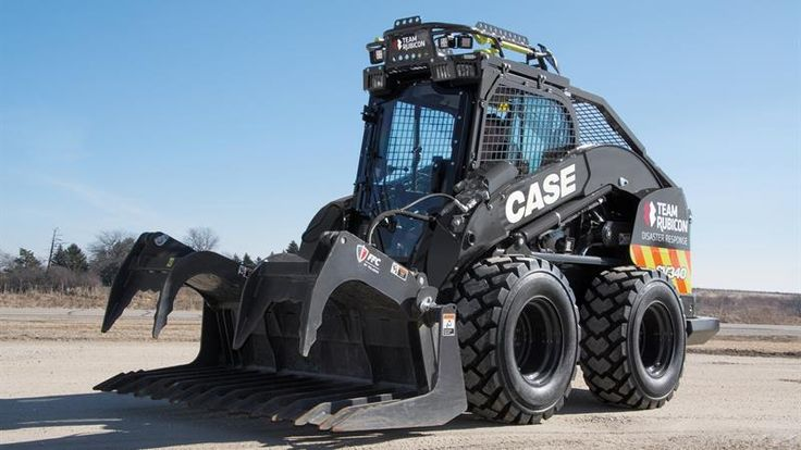 """CASE """"Team Rubicon Disaster Response SV340"""" to be Unveiled at CONEXPO-CON/AGG 2017 - Rock & Dirt Blog Construction Equipment News & Information"""
