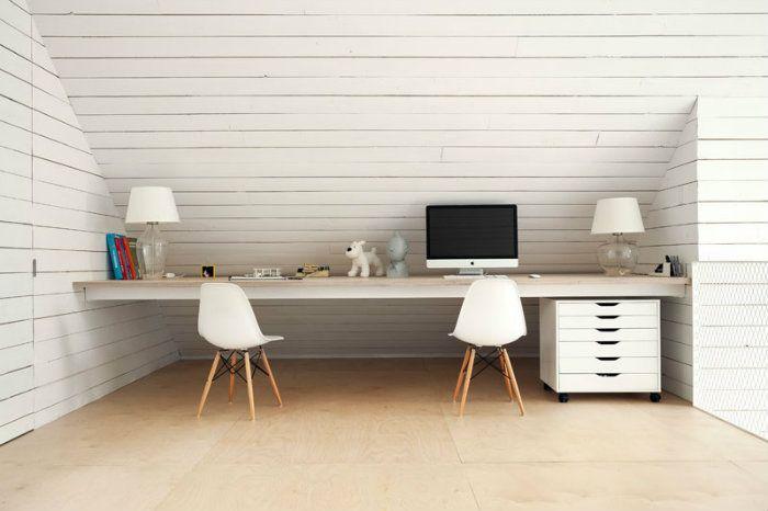 Γραφείο για…δύο! Ιδέες για γραφείο σε μικρούς χώρους!