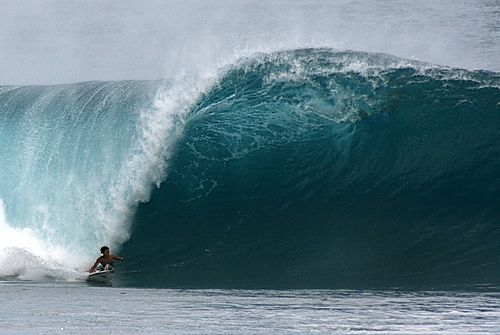 Banzai Pipeline (Northshore): Island of Oahu, HI USA