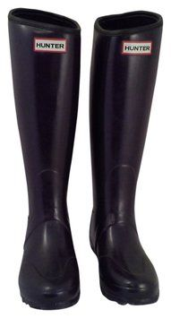 Hunter Balmoral Neoprene Aubergine (Deep Purple) Boots