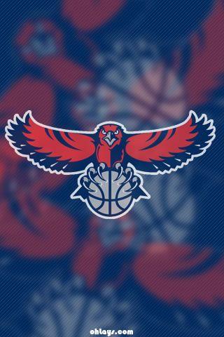 Atlanta Hawks iPhone Wallpaper