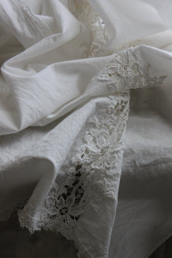 for the love of linen and lace