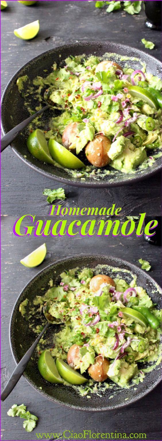 Simple Guacamole | Recipe
