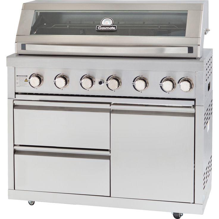 Gasmate Platinum II - Stainless Steel 6 Burner BBQ