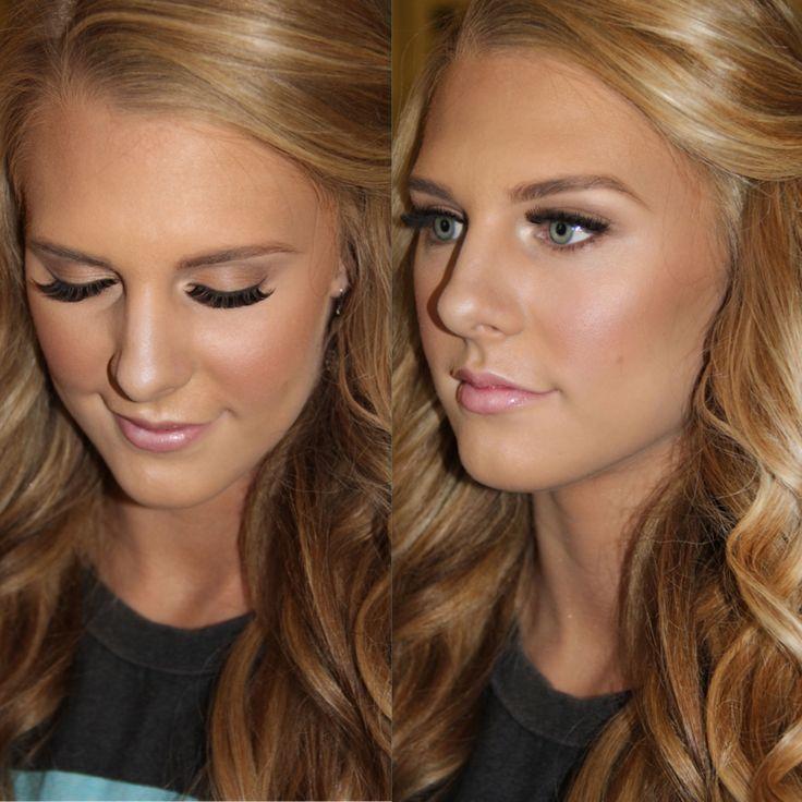 Wedding Natural Makeup Tutorial : 17 Best images about Make up ideas on Pinterest Eye ...