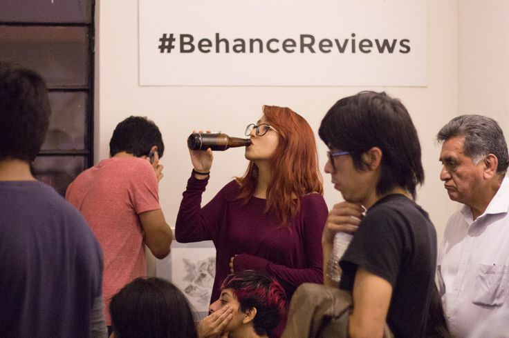 A Portfolio Review event hosted in Mexico City by www.behance.net/spikeestud02f8