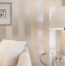 3d papel de parede tejida metálica del brillo off white silver amplia franja papel tapiz de fondo moderno revestimientos de paredes papeles de la pared h(China (Mainland))