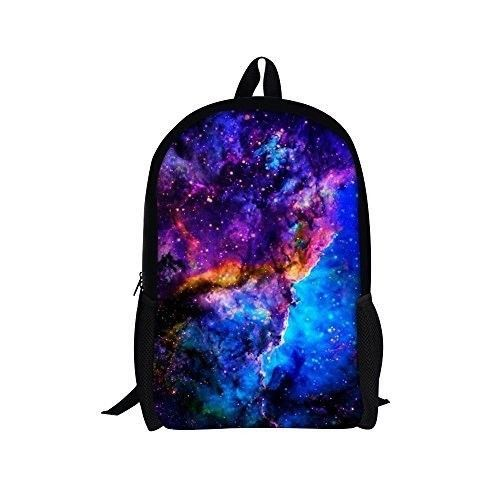 Backpack 16'' School Bag for Teenager Girls Boys Casual Daypack Galaxy 4 NEW #Backpack16SchoolBagforTeenagerGirlsBoys