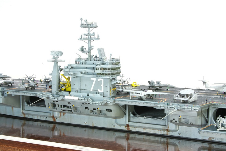 1/700 原子力航空母艦 ジョージ・ワシントン