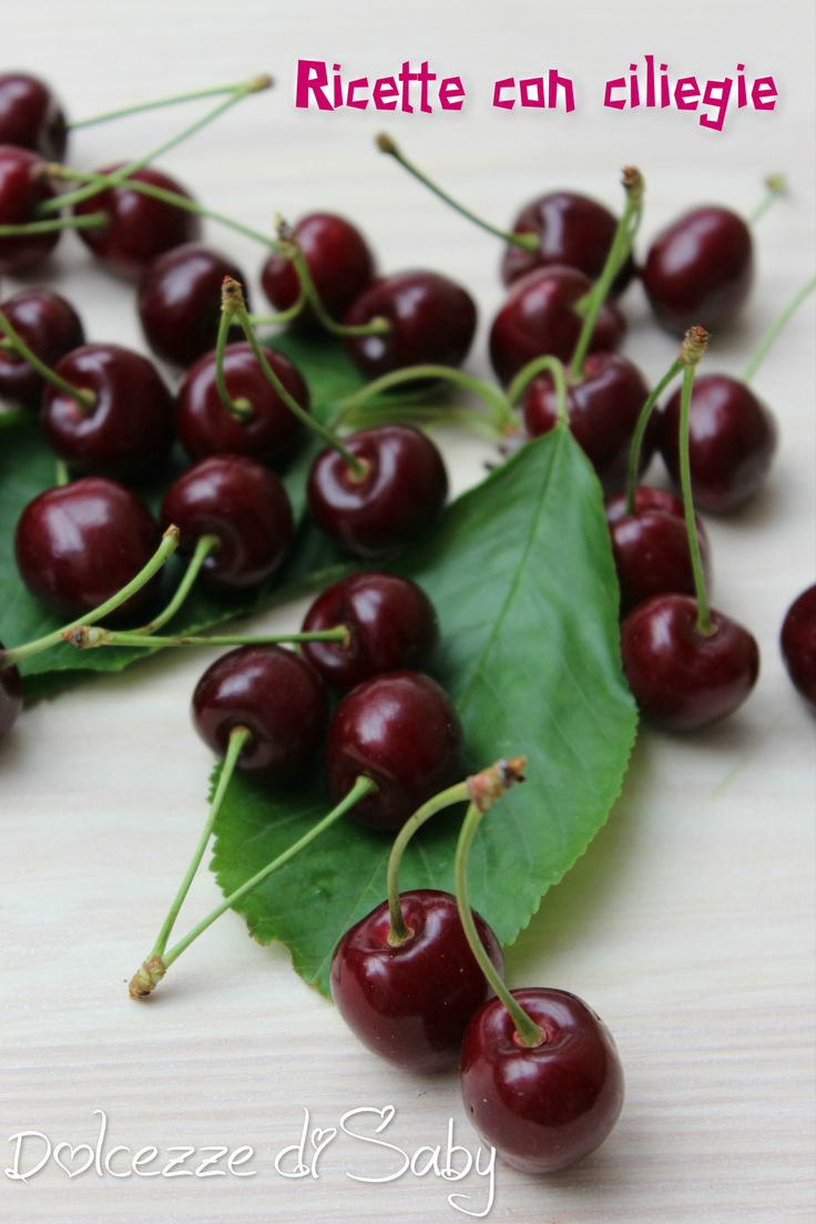 Recipes with cherries