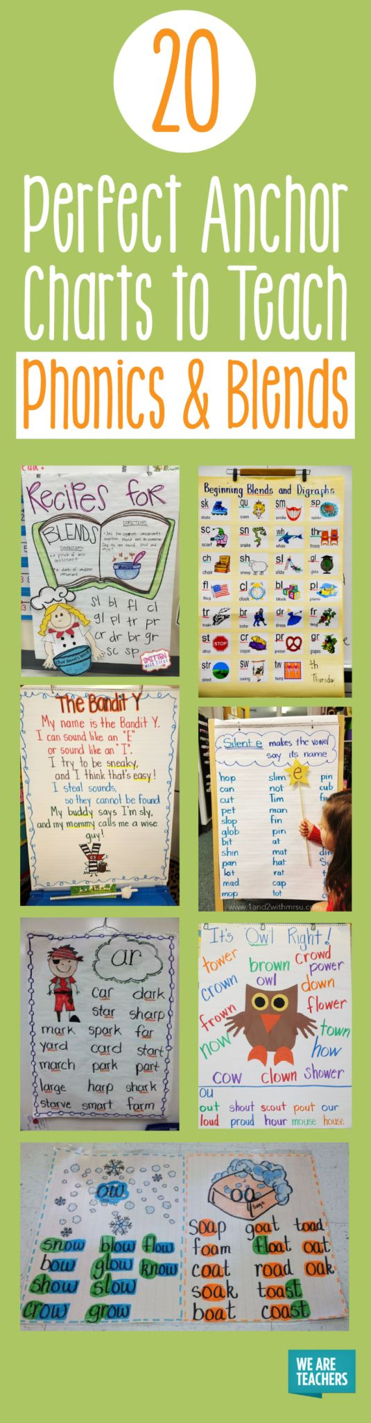 We love these phonics charts and blends anchor charts from real classrooms. Your readers will master difficult subjects and build confidence!