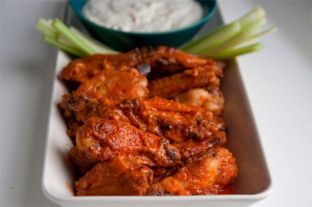 "Baked ""Buffalo"" Hot Wings | Serious Eats : Recipes"