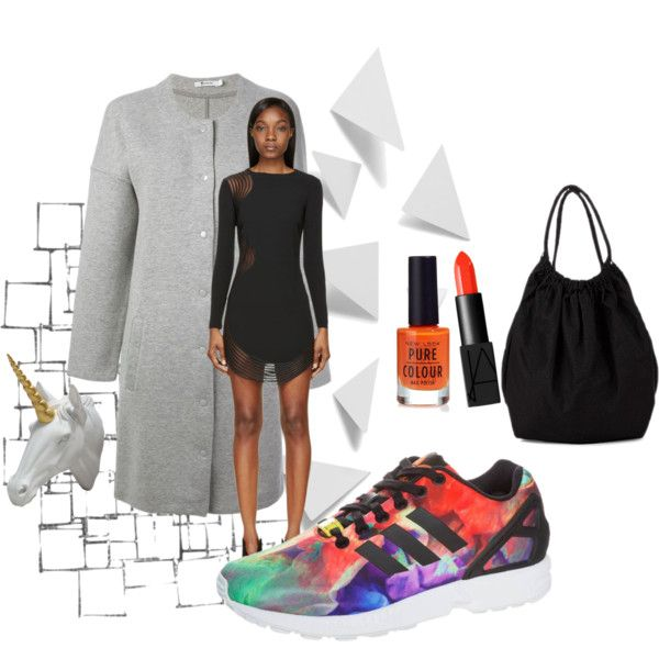 """Adidas ZX Flux 1"" by peackapples on Polyvore"