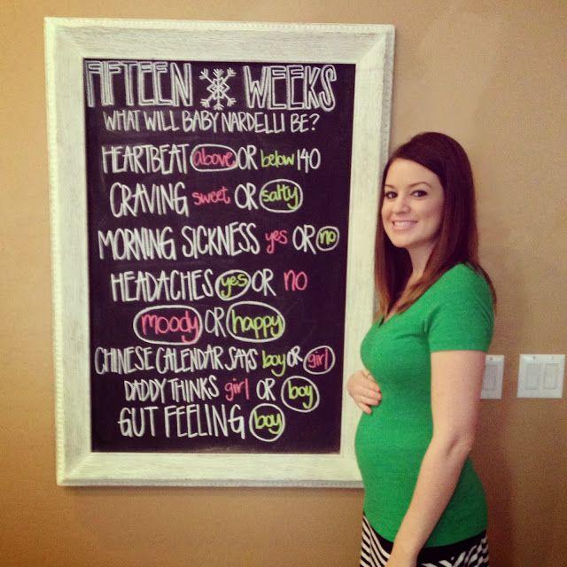 Future planning lol....Weekly chalkboard updates. Gender predictions. Gender reveal