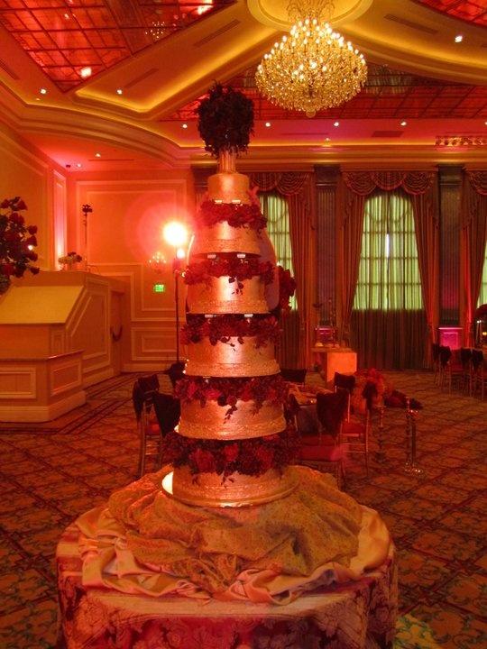 David Tutera Phantom Of The Opera Wedding Cake