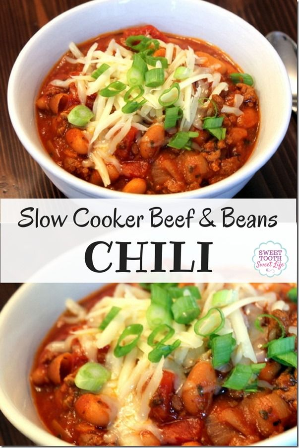 The Only Chili Recipe You Need This Fall and Winter | Sweet Tooth, Sweet Life | Bloglovin'