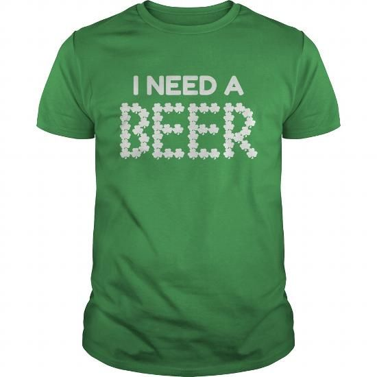 Saint Patricks day shirt for beer lovers