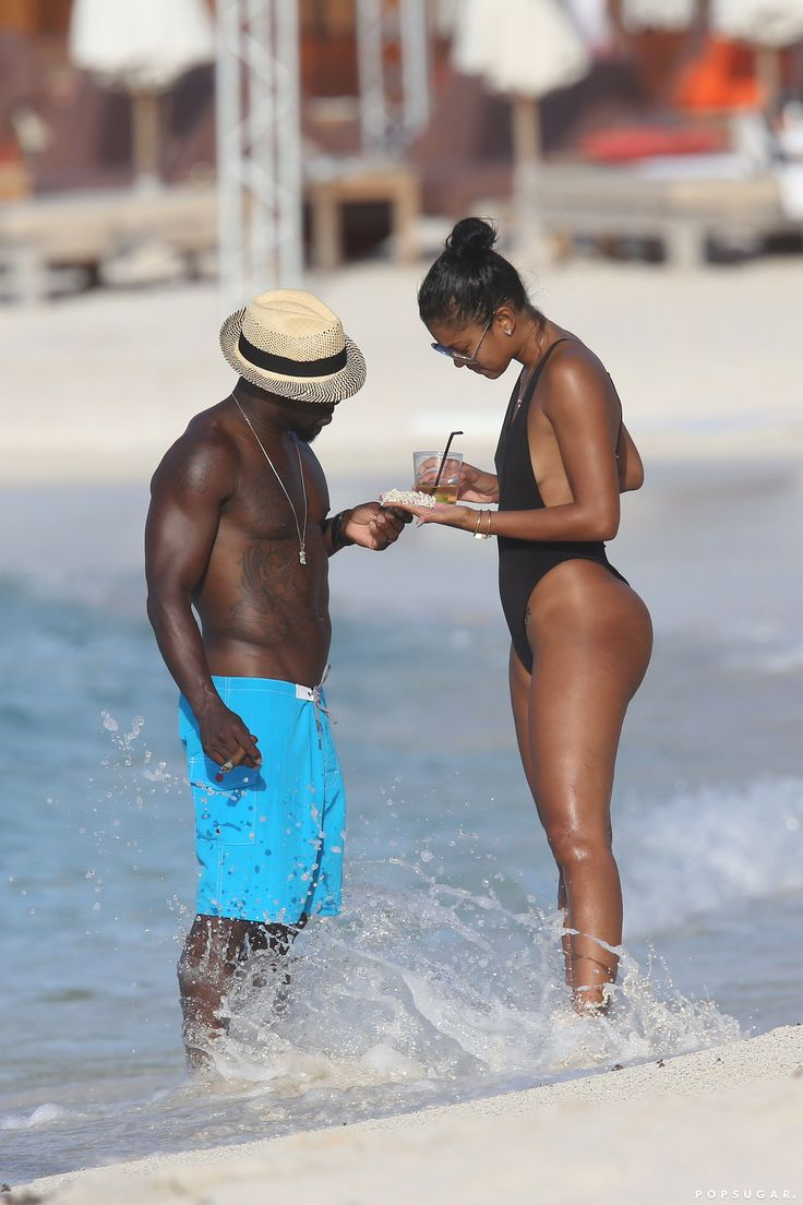 Kevin Hart and Eniko Parrish Kick Off Their Tropical Honeymoon in St Barts