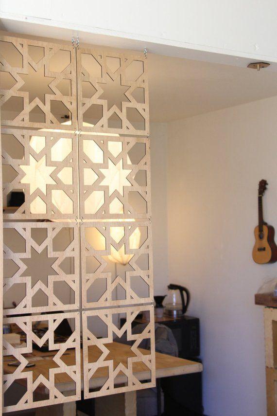 Miraculous Decorative Wood Screen Kit In Walnut Birch 8 Panel Room Download Free Architecture Designs Scobabritishbridgeorg