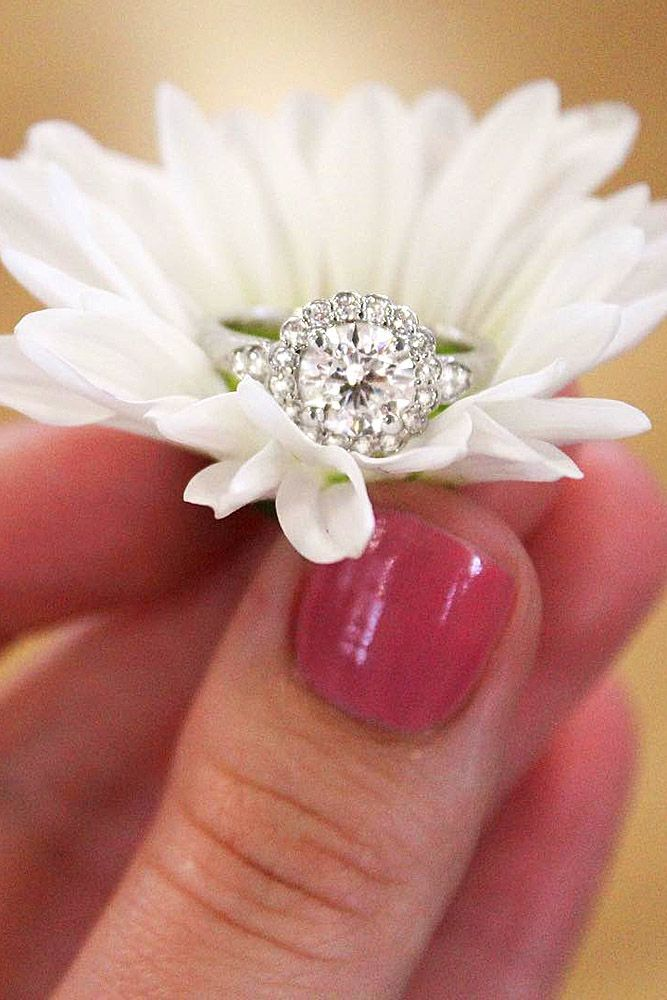 18 Vintage Engagement Rings With Stunning Details ❤ See more: http://www.weddingforward.com/vintage-engagement-rings/ #wedding #engagement #rings