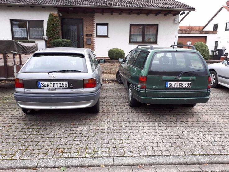 Zwei Opel Astra zu verkaufen einer mit Tüv