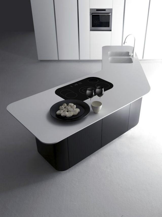 99 Besten Minimalistische Küche Bilder Auf Pinterest Einrichtung   Kuche  Mit Kochinsel Trendigen Design Pedini