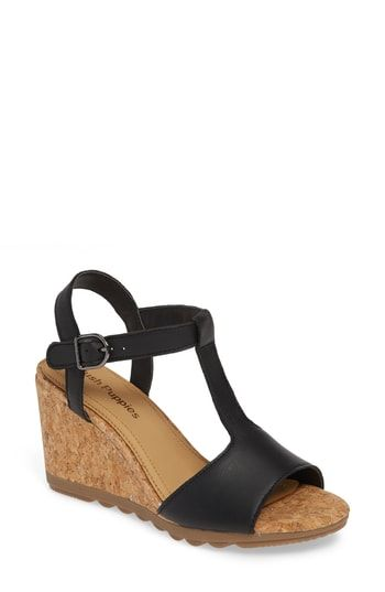 d257fca08f46a Hush Puppies® Pekingese Wedge Sandal (Women) in 2019 | The Top ...