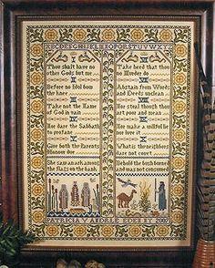 10 Commandments Rug