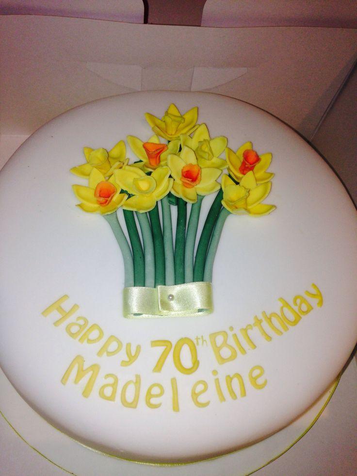 #daffodil cake