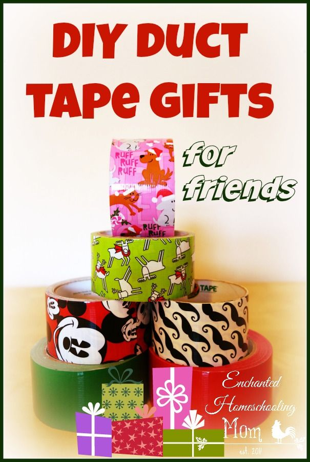 Grab your duct tape and come find out how your kids can make a fun diy gift for their family and friends!