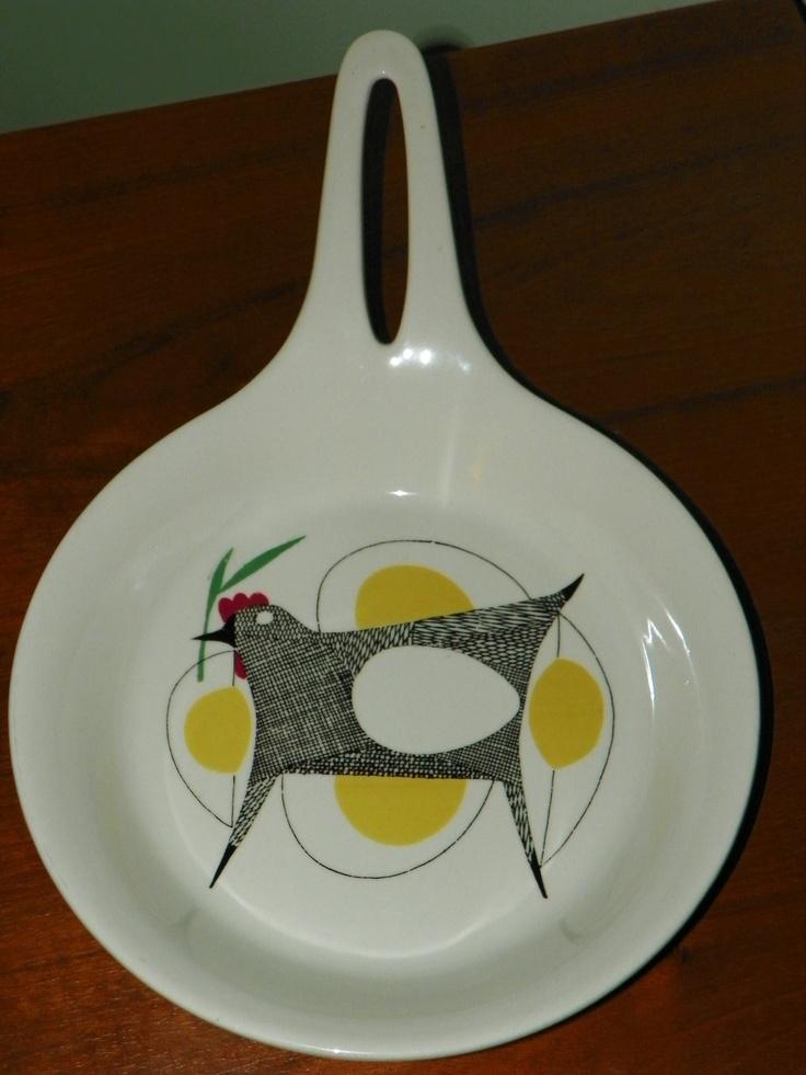 Vintage Figgjo Flameware Mid Century Modern by ClayObjectsetc