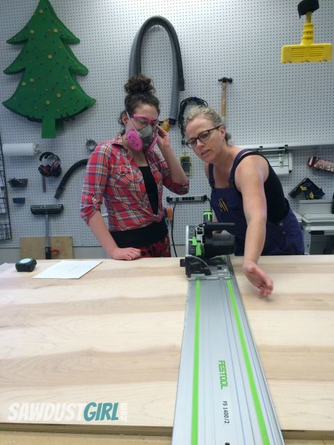 Workshop Favorite — Festool Track Saw