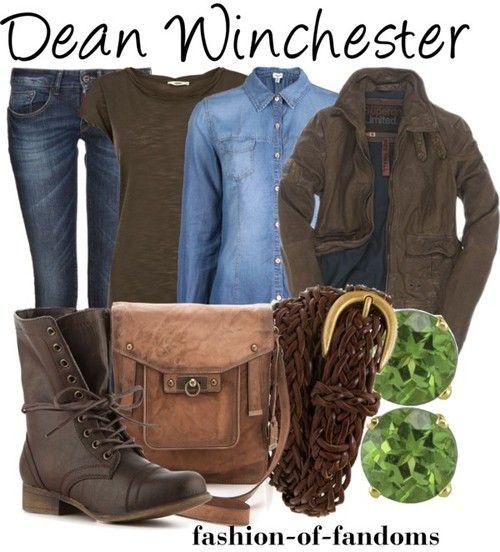 Fandom Fashion - Dean Winchester… i'd probably wear this tbh