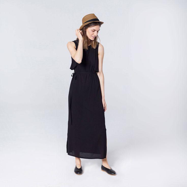 sukienka na lato, tylko w innym kolorze (nude/szary)