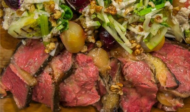Roasted Beef Sirlion with Beetroot ala Reuben : Food : The Home Channel