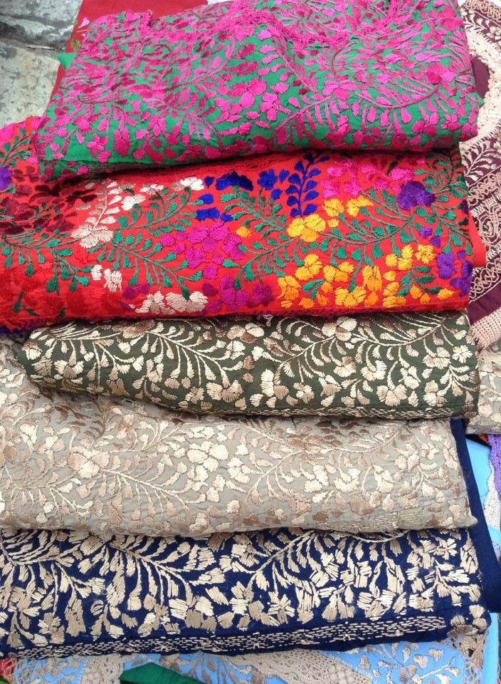 Oaxacan ( Blouses )~Image © Sandra Renteria | { Textiles }Why so few shirts like these designs for men ? !