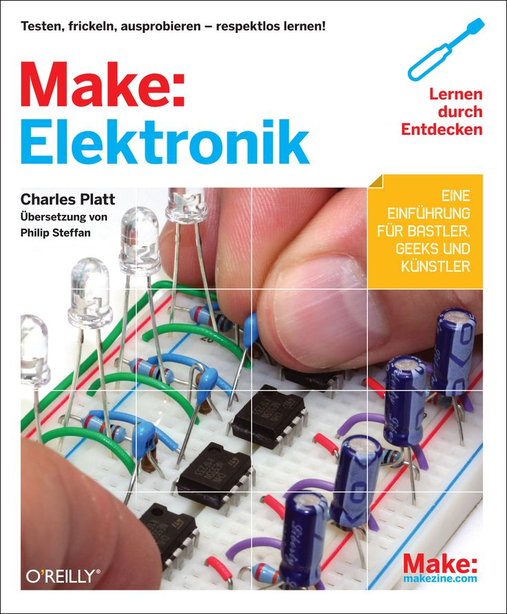 Foundations of electronics – presented with joy of experimentation & humor.