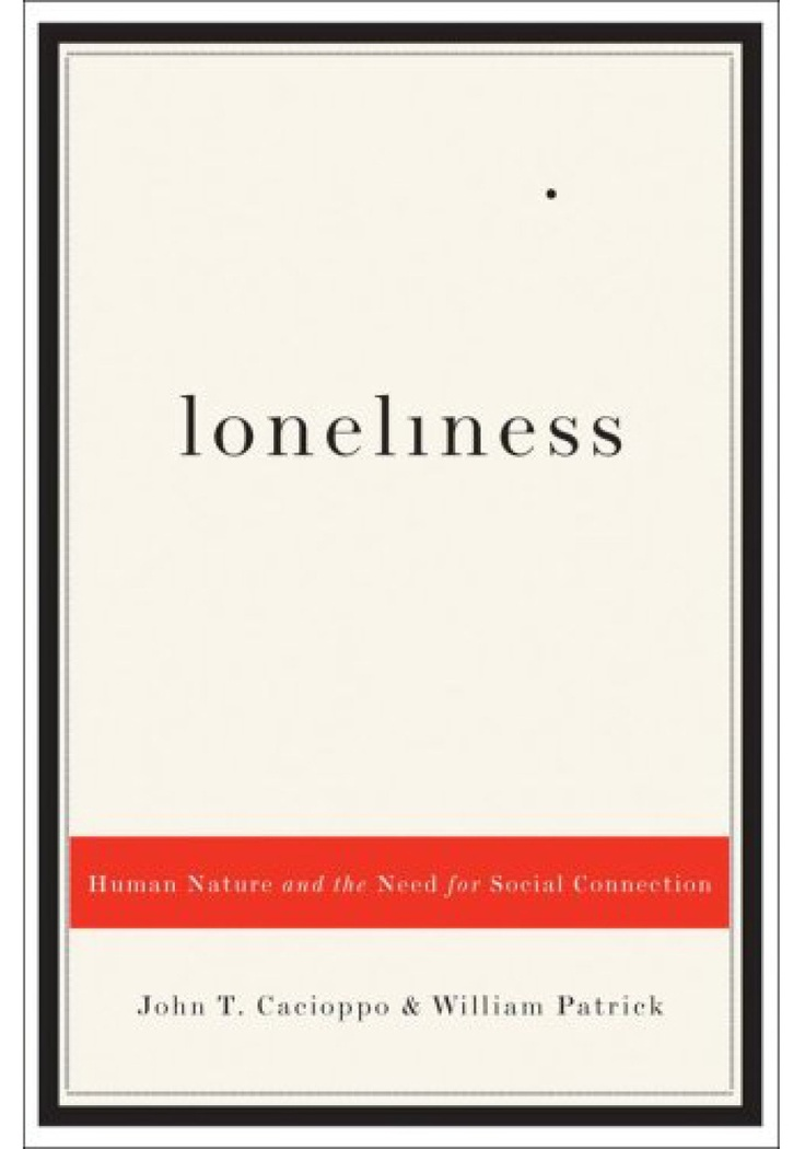 I think it's creative how the dot on the 'i' is far apart from the word 'loneliness.' But I also find it to be slightly distracting.