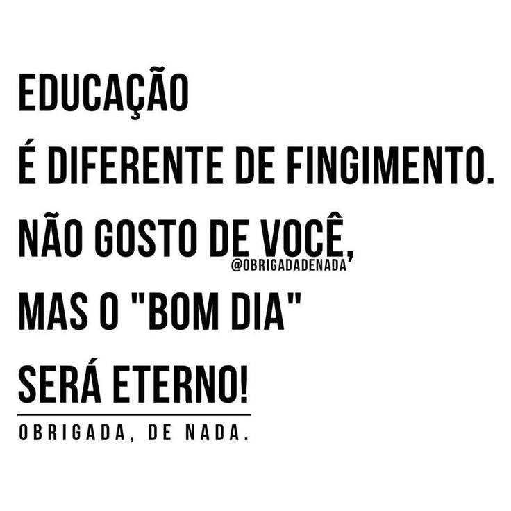 Educação é diferente