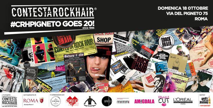 CRH PIGNETO goes TWENTY! | Contesta Rock Hair