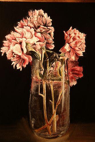 acquerello+ pastelli morbidi( sfondo)