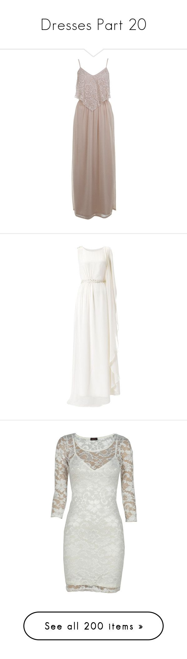 """""""Dresses Part 20"""" by ilovecats-886 ❤ liked on Polyvore featuring dresses, maxi dress, miss selfridge, nude, miss selfridge dresses, flutter-sleeve dress, ruffled dresses, nude dress, lace maxi dress and wedding dresses"""