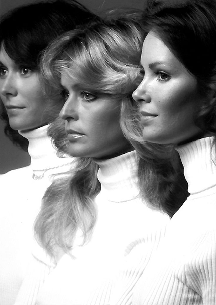 Charlie´s Angels.Jaclyn Smith, Charlie Angels, Charli Angels, 70S, Farrah Fawcett, Movie, Kate Jackson, Charlie'S Angels, People