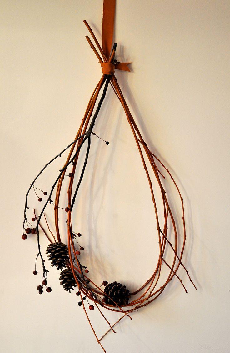 Foraged Twig Wreath