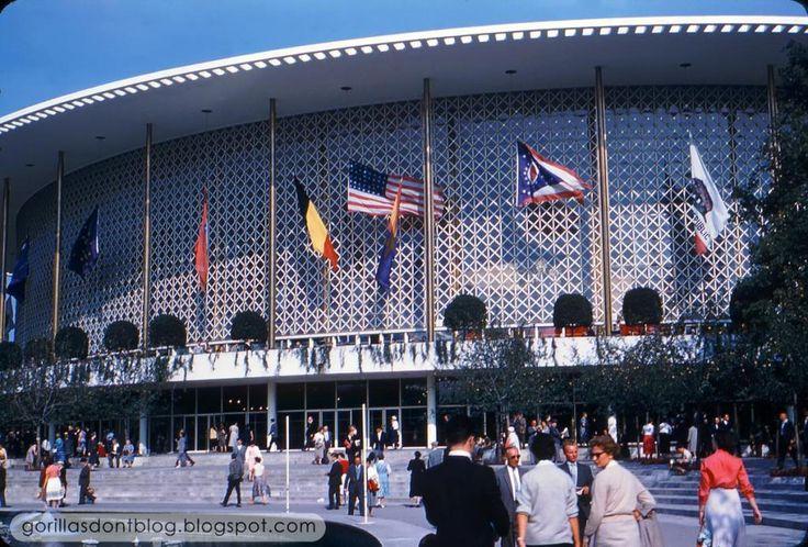 USA Pavilion at Expo 58