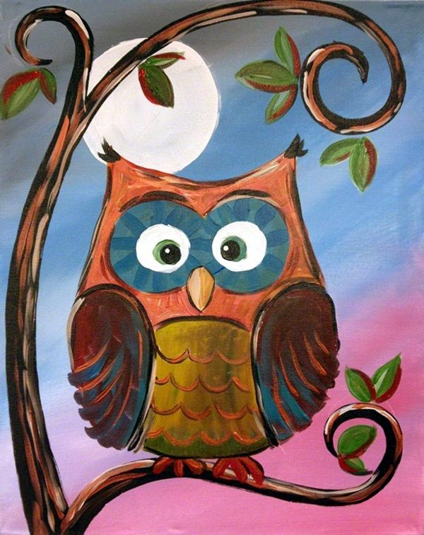 Best 25 Owl canvas paintings ideas only on Pinterest Owl canvas